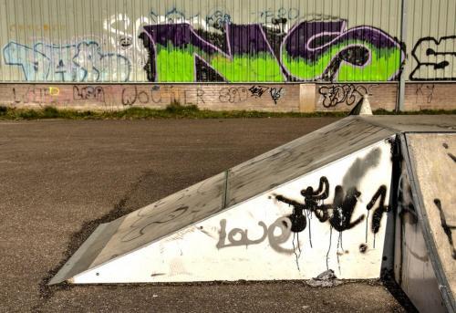 Ans van Berkel-Graffiti