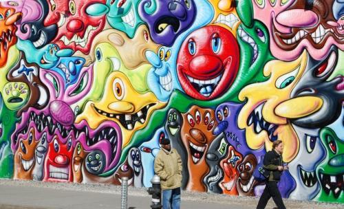 Cees Bakker-Graffiti