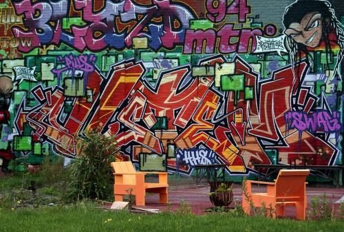 Harry van den Idsert - Graffiti