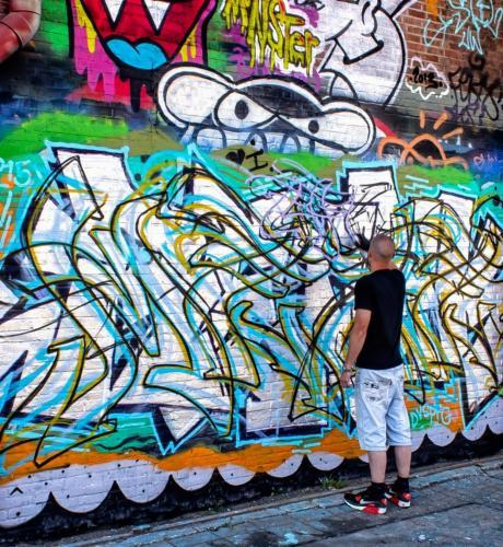 Peter van der Voort-Grafitti